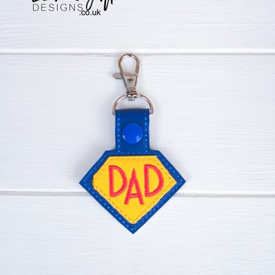 Super Dad Keyfob