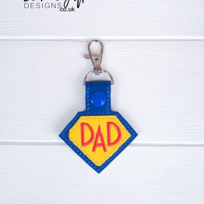 Super Dad Keyfob