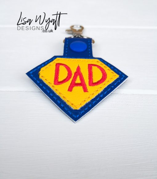 Super Dad Key Keyfob