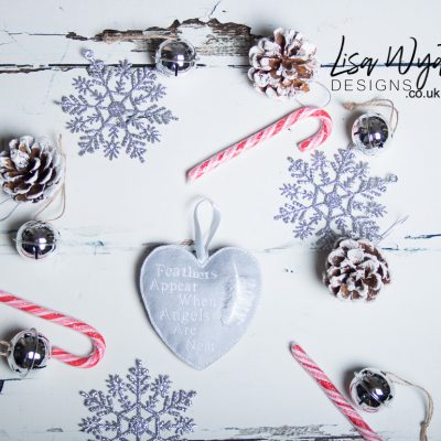 Memorial Heart Christmas Decoration