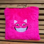Pink Fluffy Cushion
