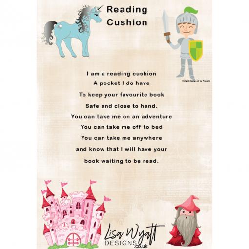 Unicorn Cushion Instructions