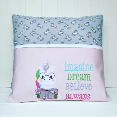 Unicorn Reading Cushion