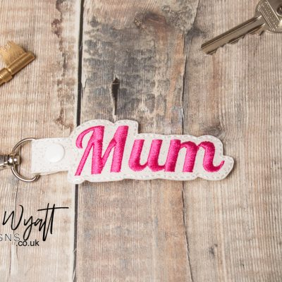 Mum Keyring made by Lisa Wyatt Designs