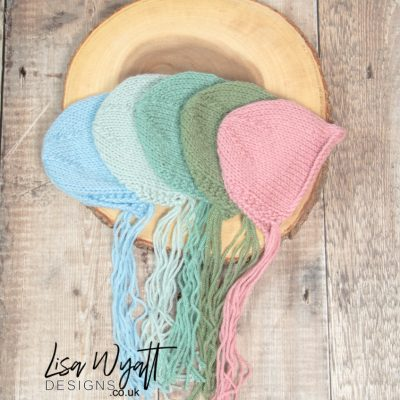 Newborn Knitted Bonnet