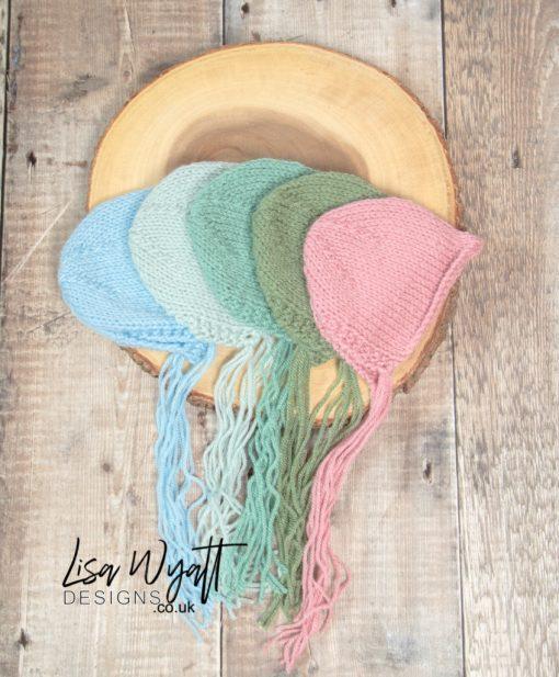 Newborn Knitted Bonnet