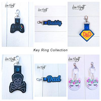 Key Rings and Bag Charms