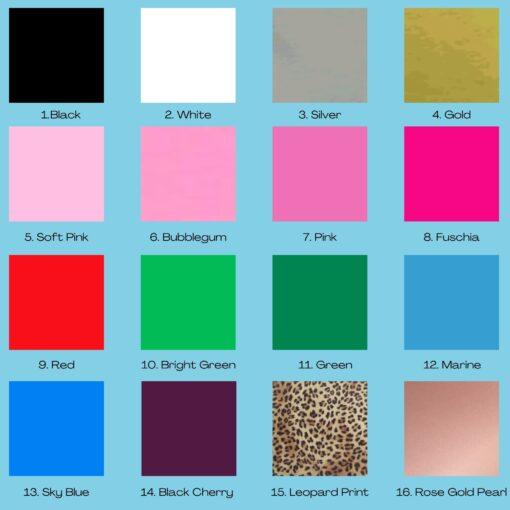 HTV Colours