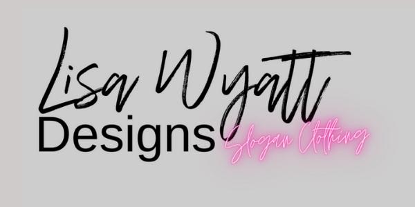 Lisa Wyatt Designs Website Header on Grey Background