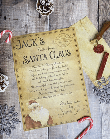 Letter From Santa Claus Homepage Image