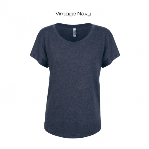 Vintage Navy Colour Option for Wax Queen T-Shirt