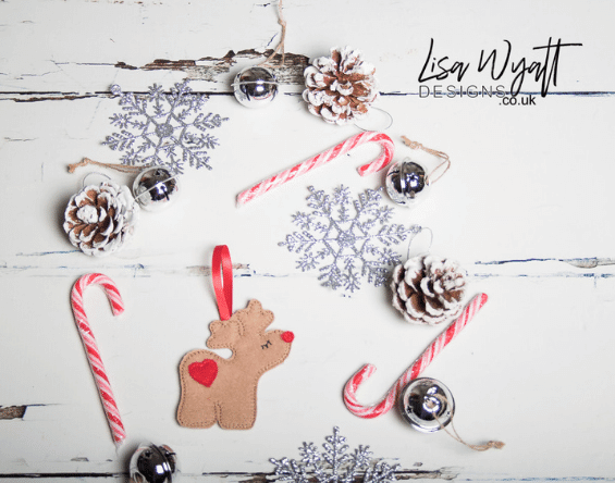 Reindeer Christmas Tree Decoration Homepage