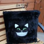 Black Fluffy Cushion